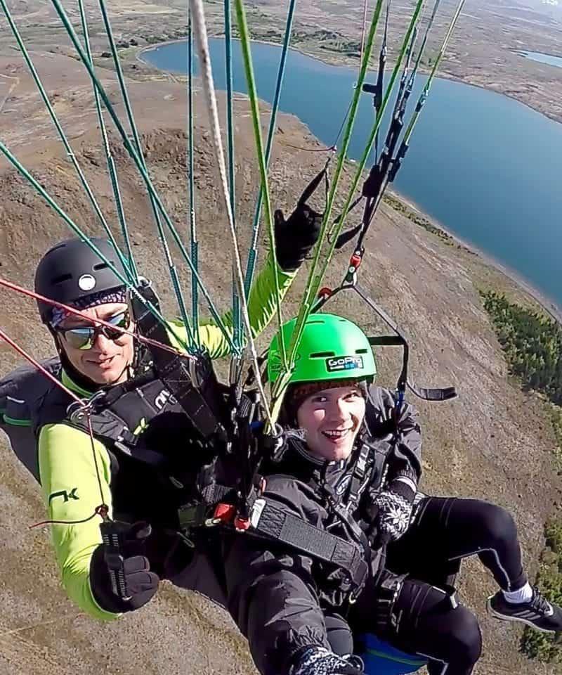 paragliding reykjavik