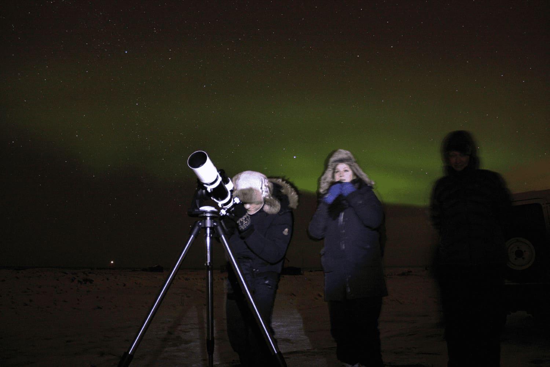 Northern lights reykjavik