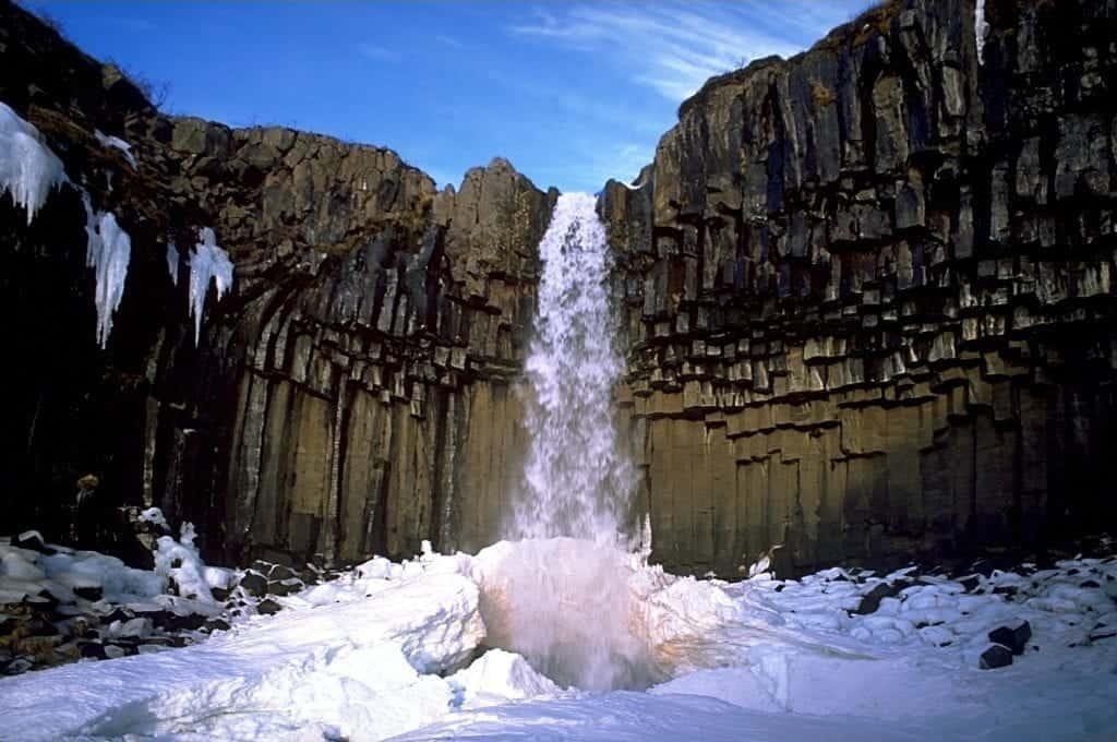 svartifoss iceland snaefellsnes