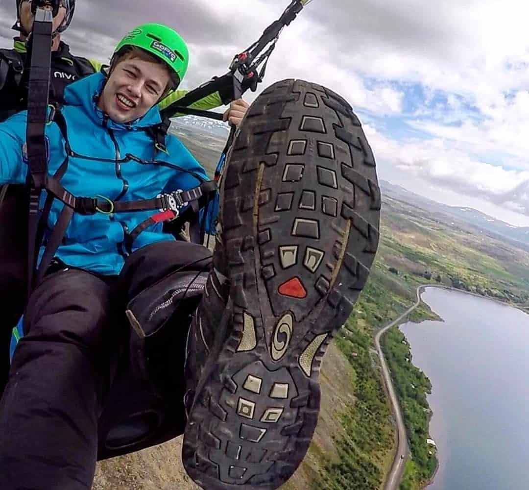 paragliding reykjavik tours