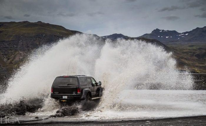 super jeep iceland