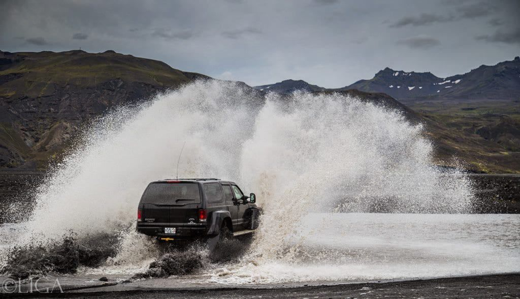 super jeep iceland