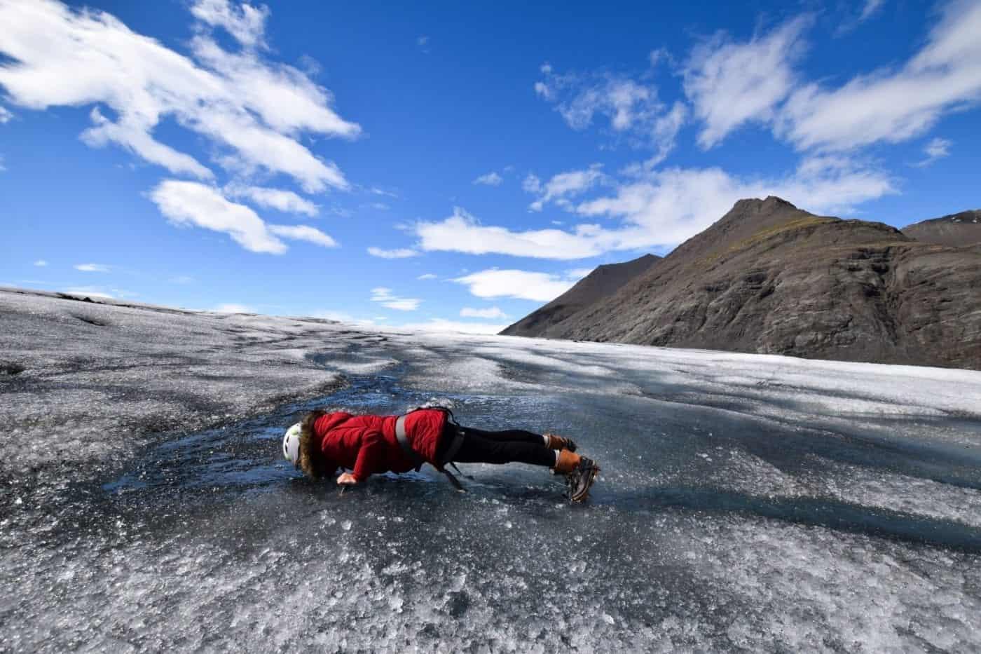 glacier hike vatnajökull