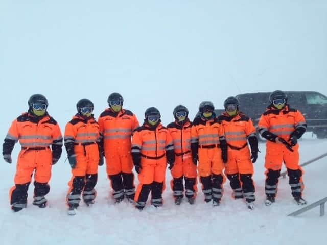 snowmobile glacier tour iceland