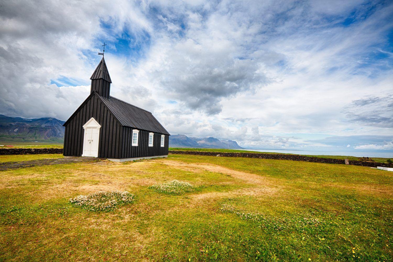 snæfellsnes church iceland