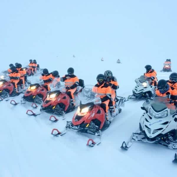 snowmobile glacier tour from reykjavik