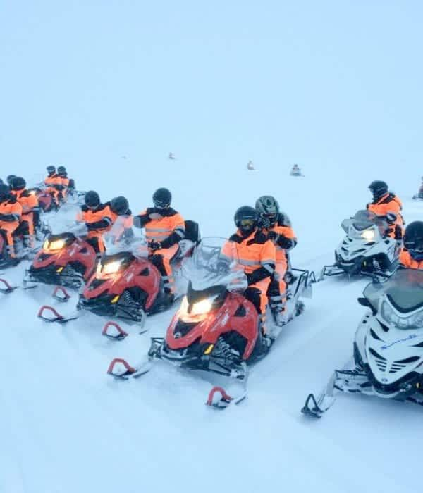 snowmobile glacier tour from reykjavik