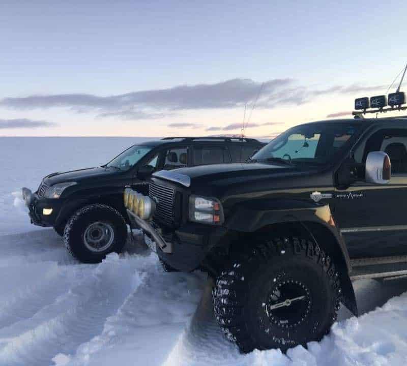 super jeep tour iceland