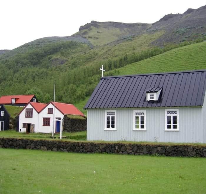 Skógar Iceland