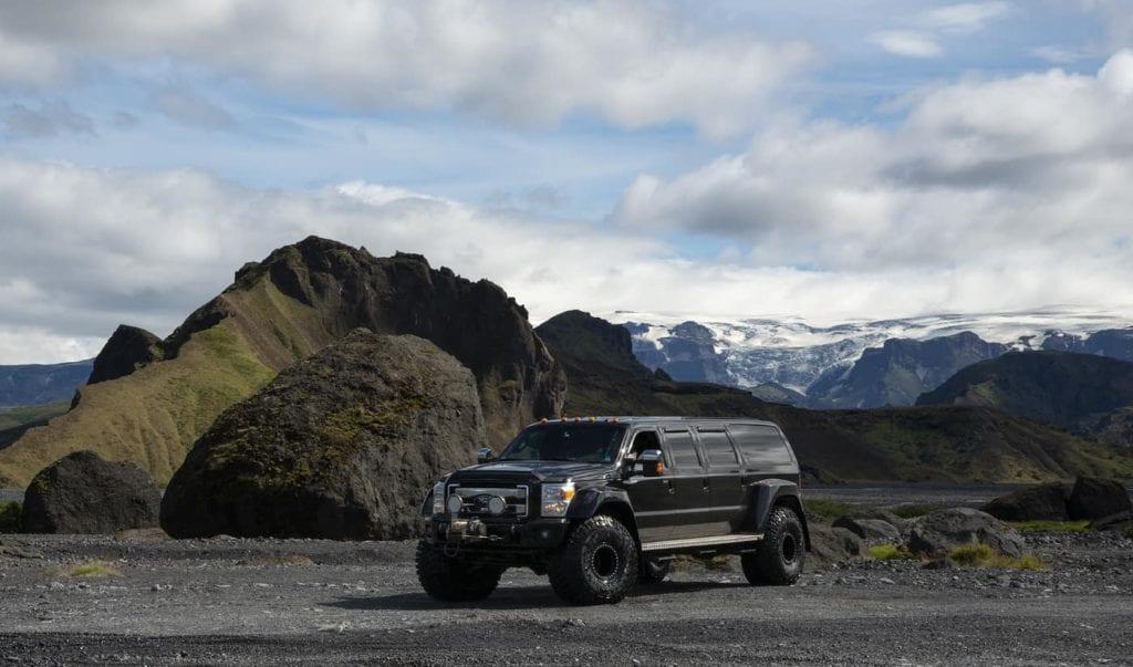 super jeep from reykjavik