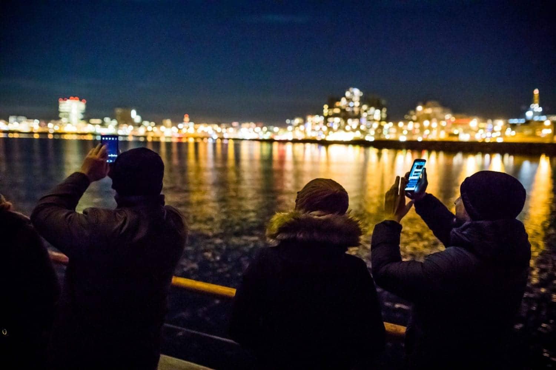 reykjavik lights sailing
