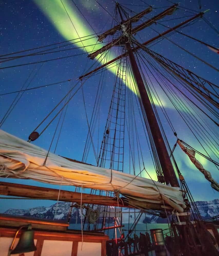 northern lights sailing tours