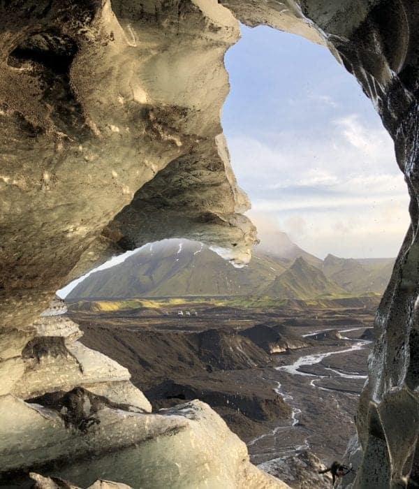 dragon glass ice cave tour
