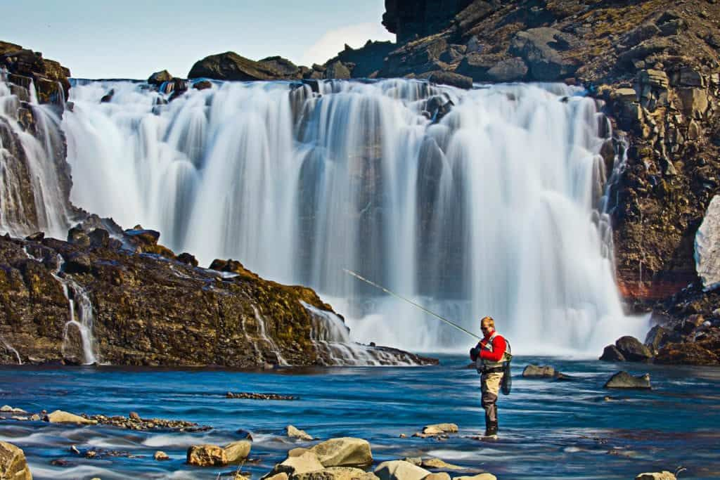 highland fishing tour in iceland