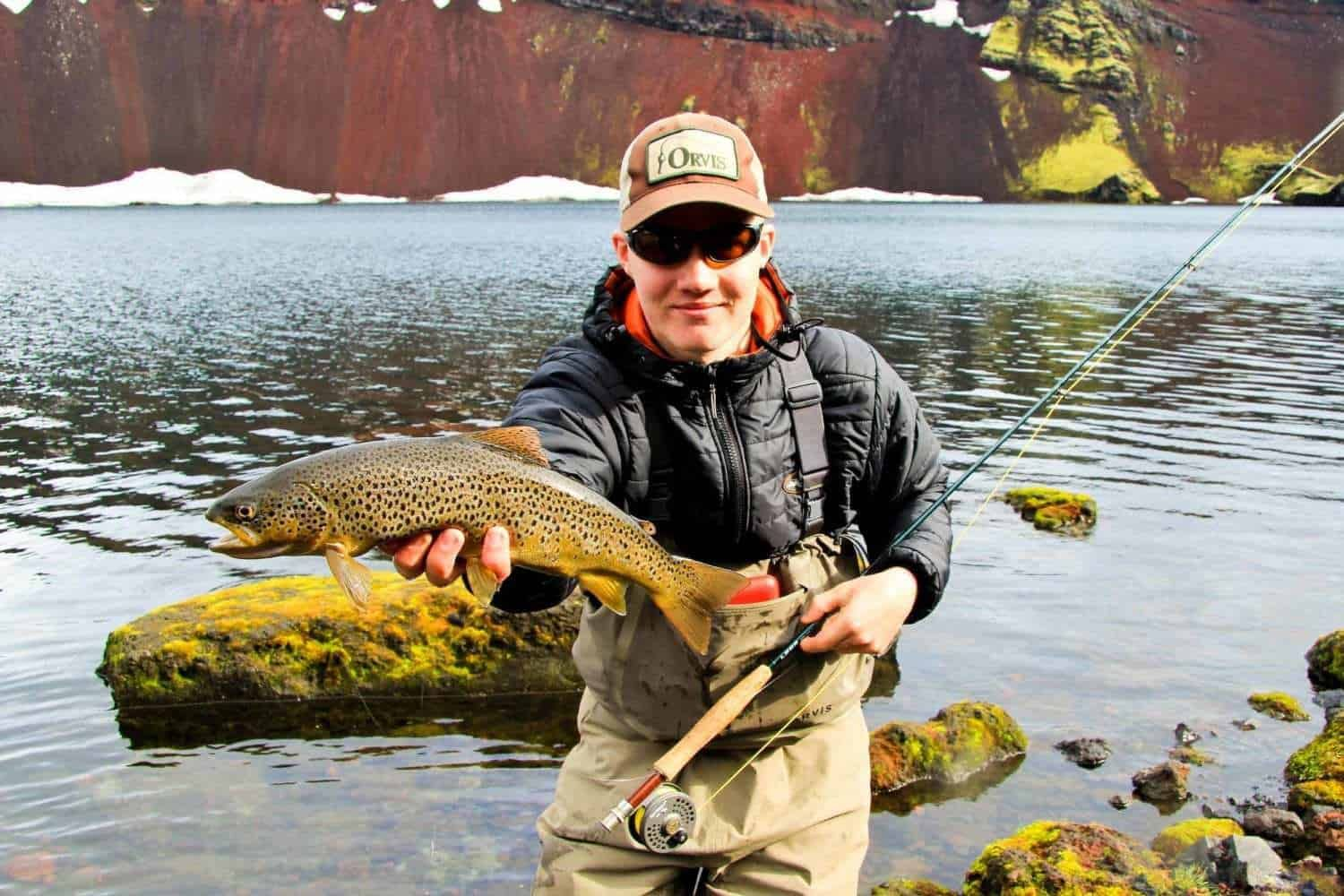 guided trout fishing iceland