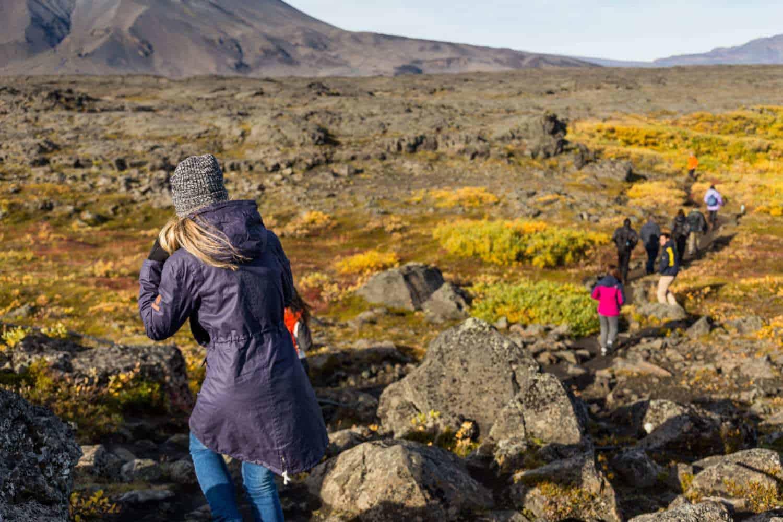 Askja caldera iceland hiking tour