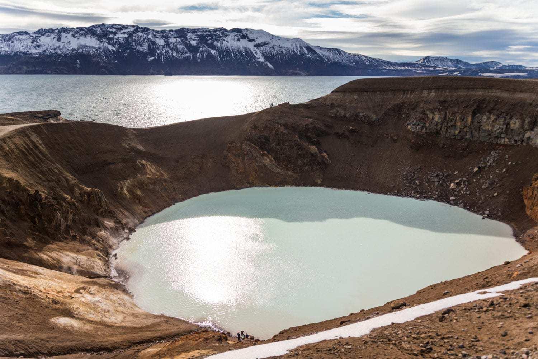 Askja caldera tour iceland
