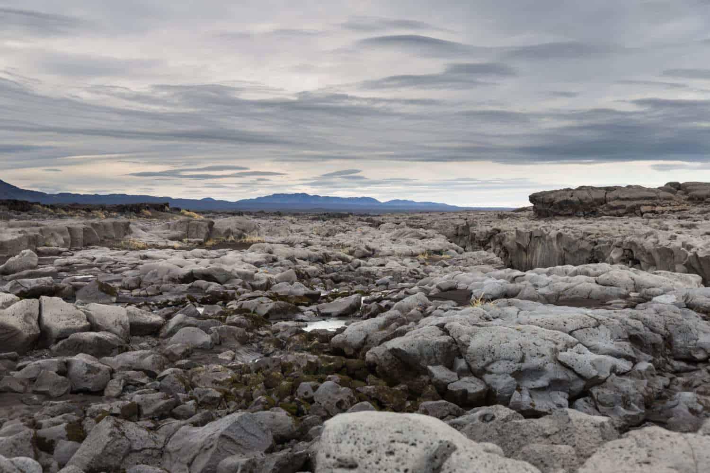 Askja caldera iceland