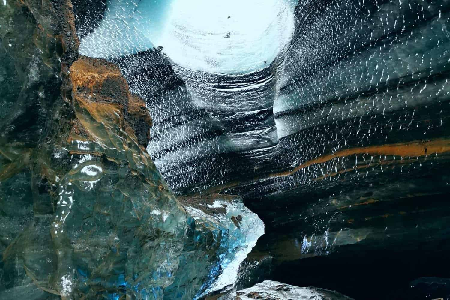dragon glass ice cave iceland