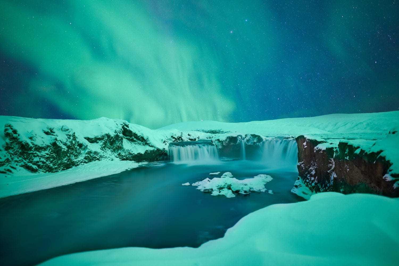 west iceland northern lights
