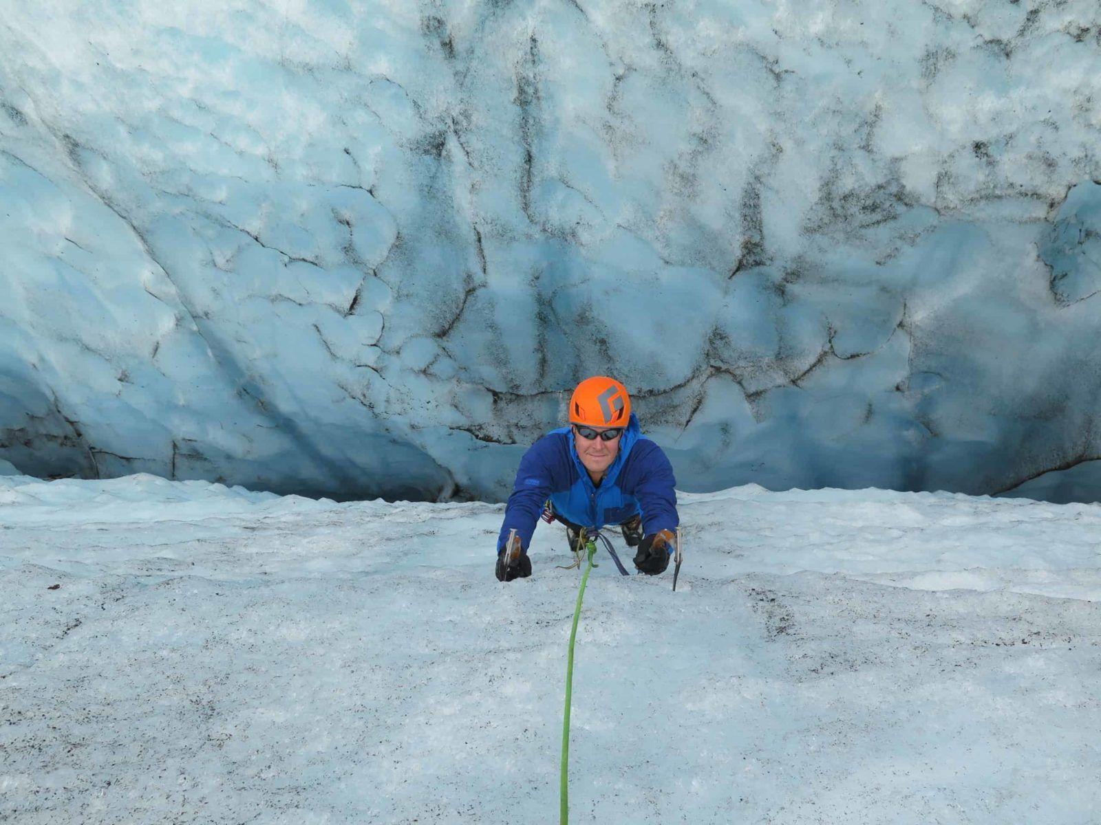 ice climbing glacier tour iceland