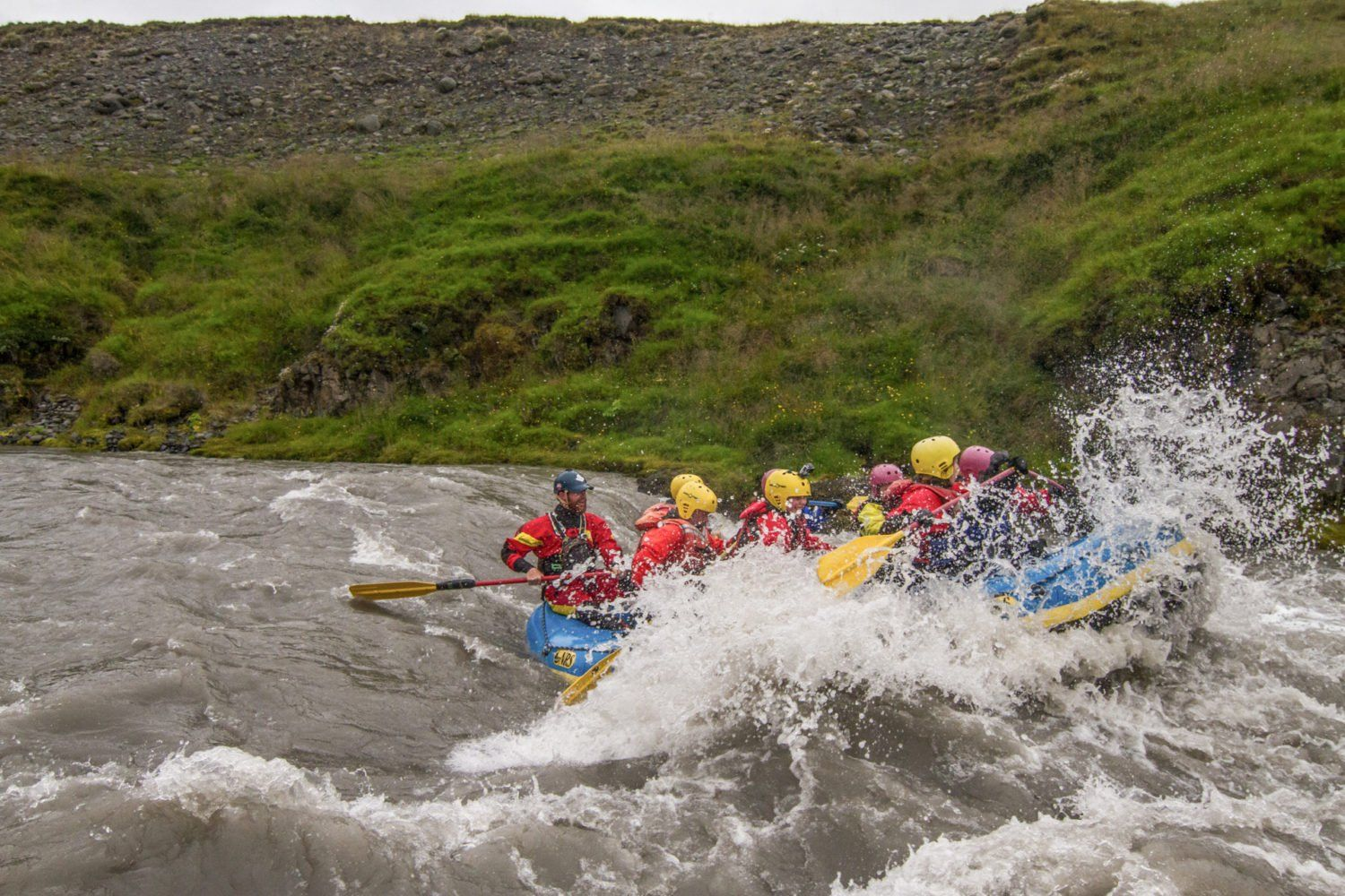 family river rafting tours iceland