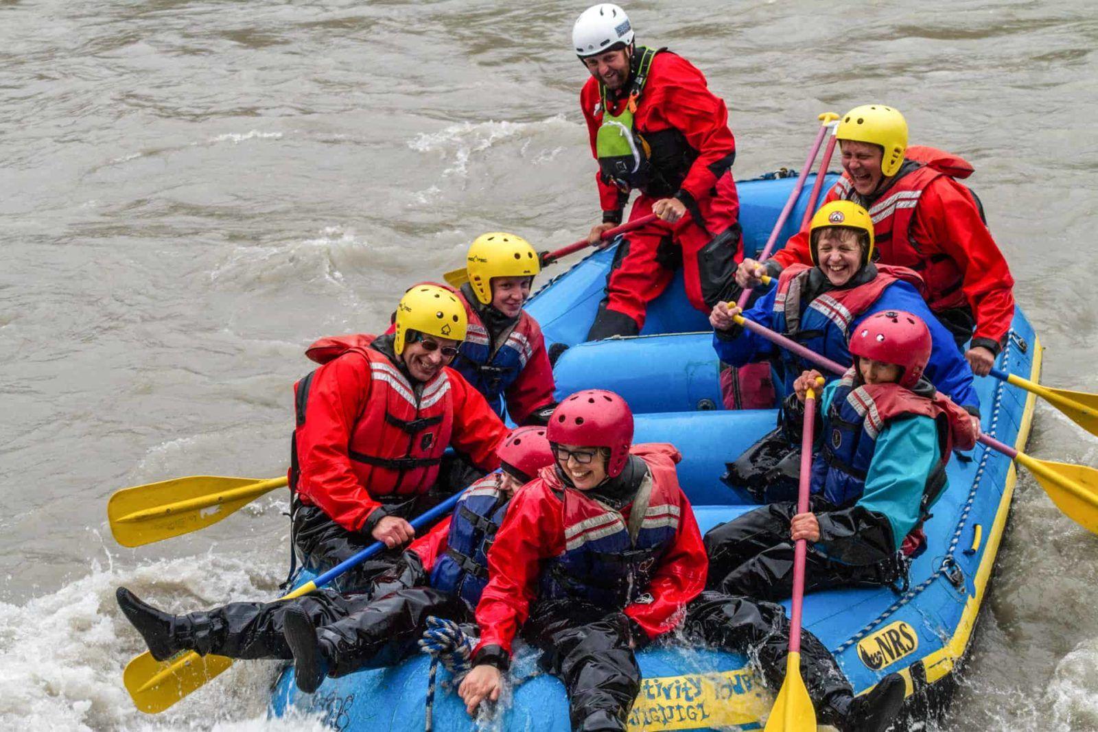 iceland white water rafting