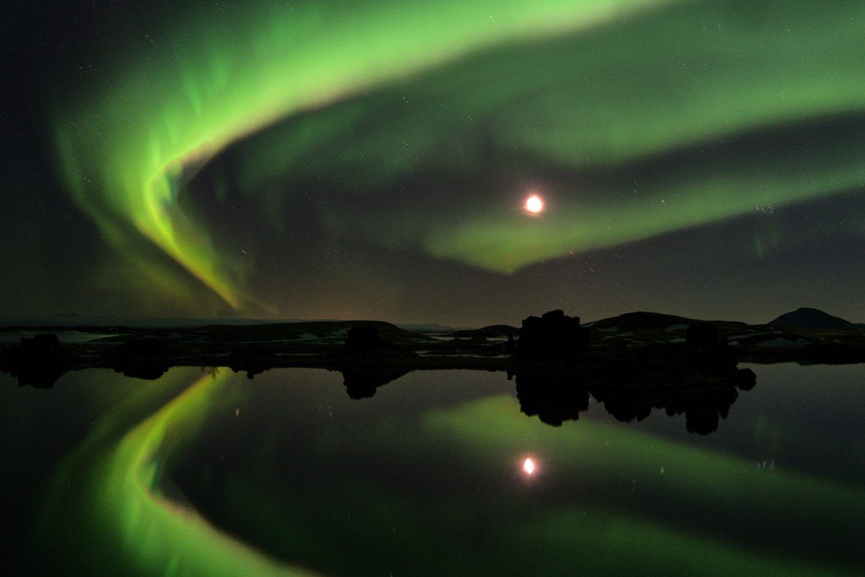 northern lights photo tour iceland