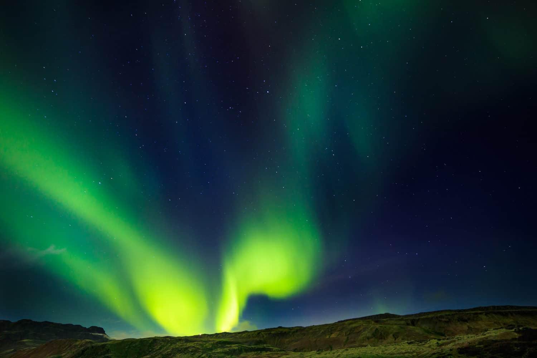 secret lagoon northern lights iceland