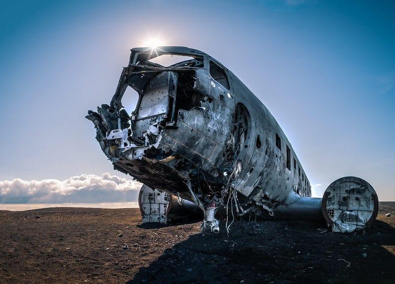 plane wreck sand iceland