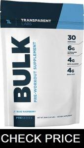 Transparent Labs Bulk Pre Workout Review