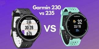 Garmin Forerunner 235 vs 230