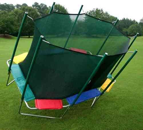 trampoline with high weight limit