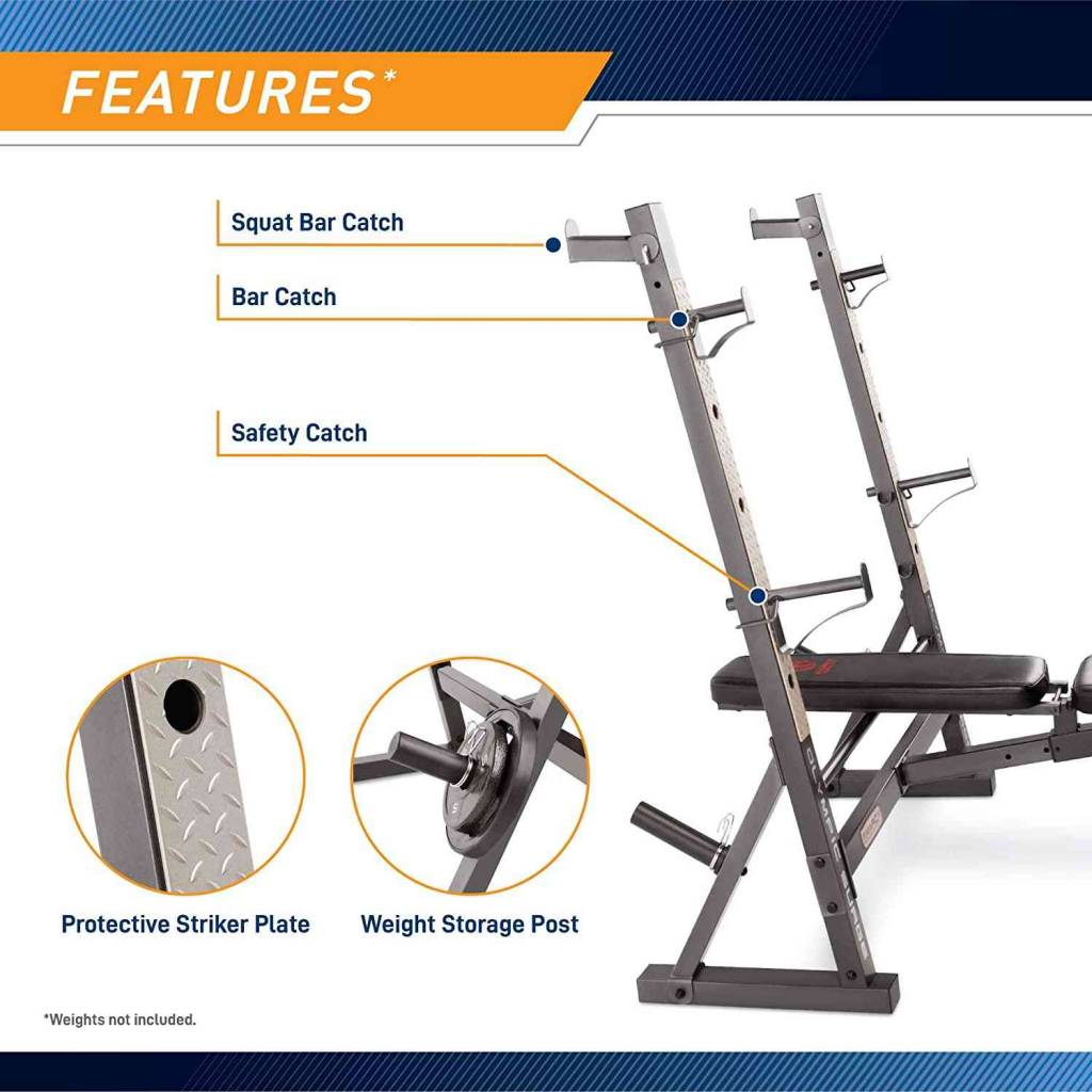marcy olympic weight bench review