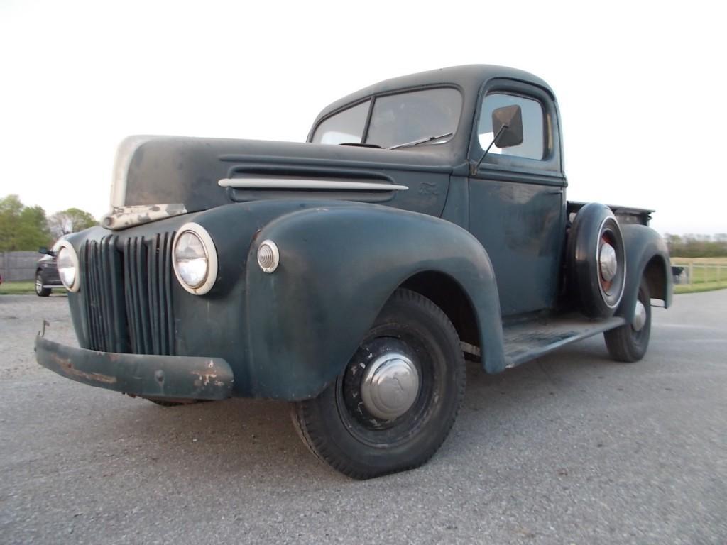 1947 Ford Shortbed Pickup Flathead V8