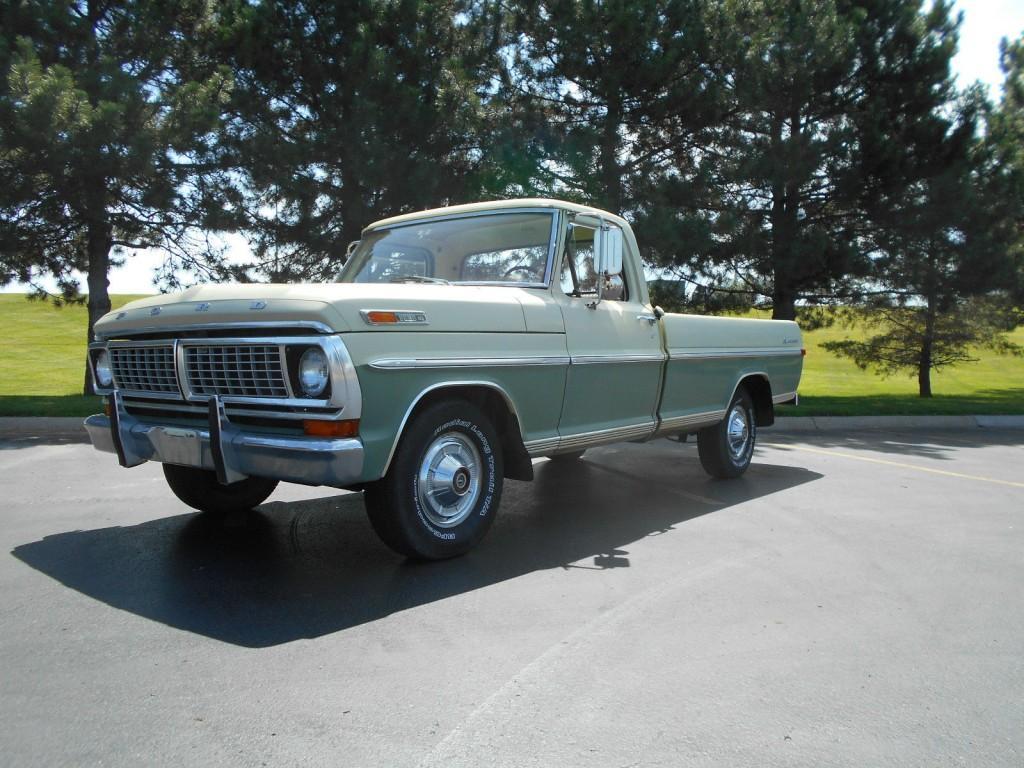 1970 Ford Pickups Survivor, BARN Find, Unmoleted 2 Owner Actual MILE