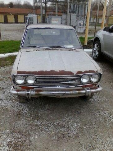 1972 Datsun 510 Wagon barn find