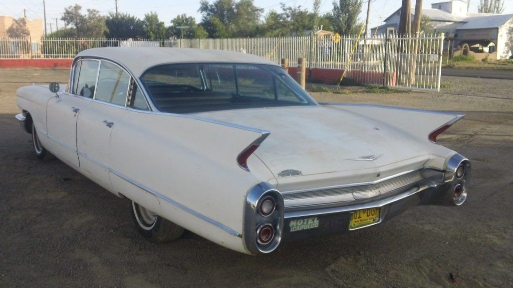1960 Cadillac 4 door hard top 4 door 6 window barn find