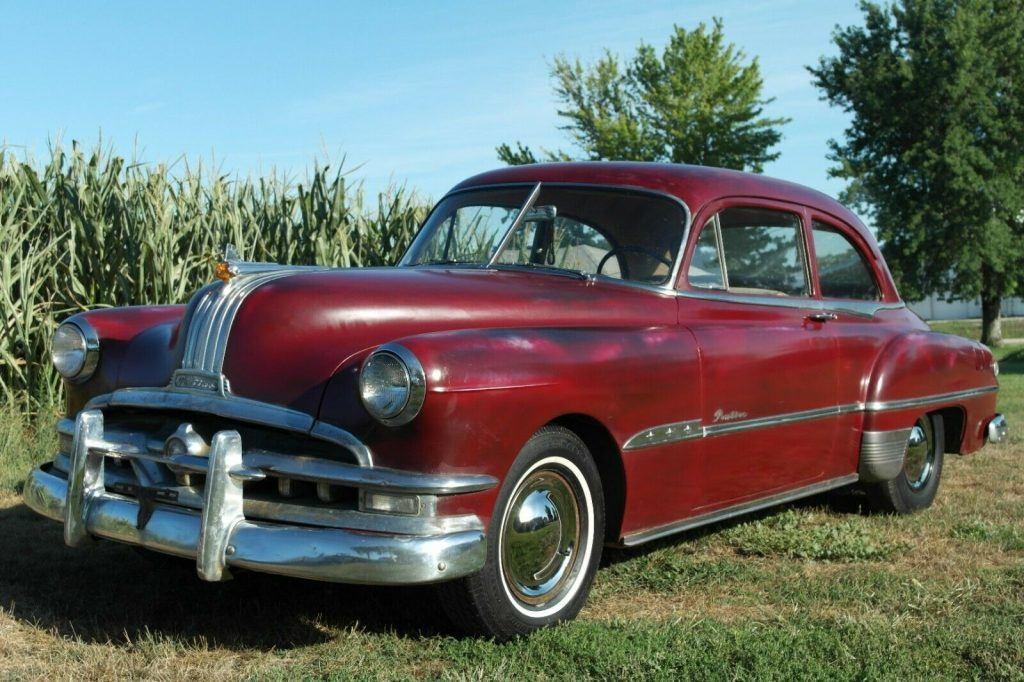 1951 Pontiac Chieftain Survivor barn find original