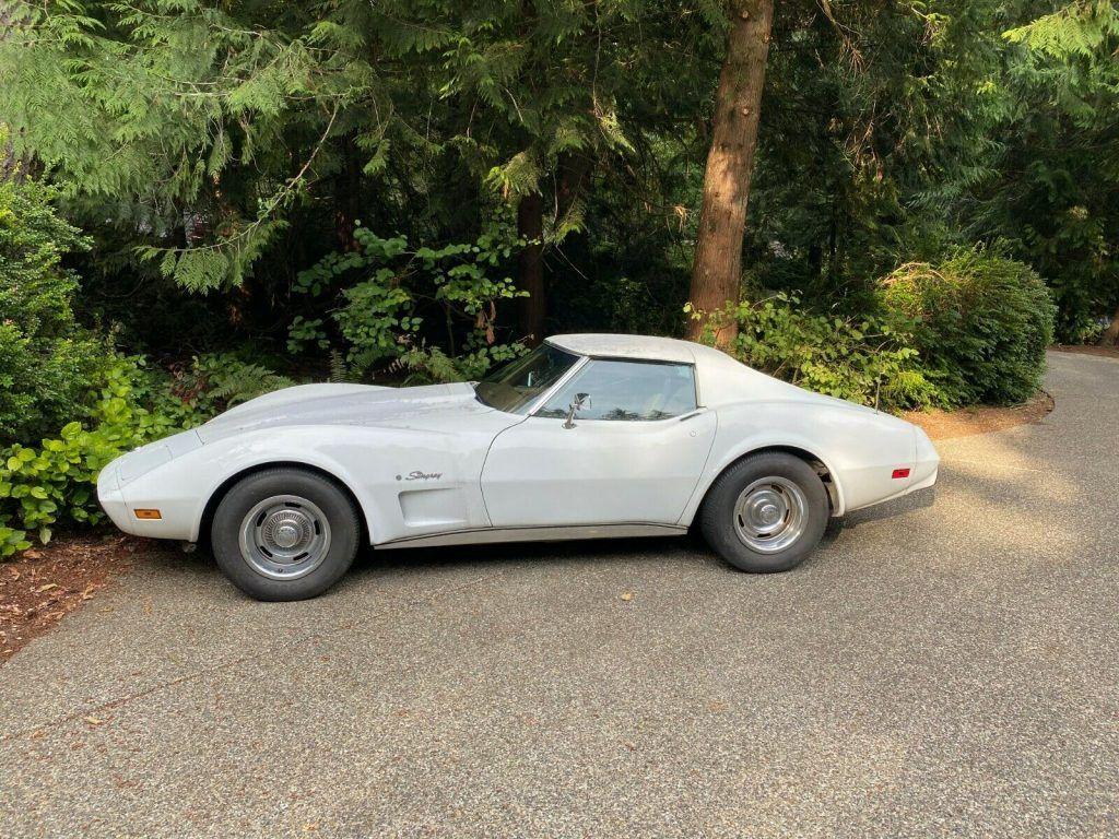 1975 Chevrolet Corvette 4 speed barn find