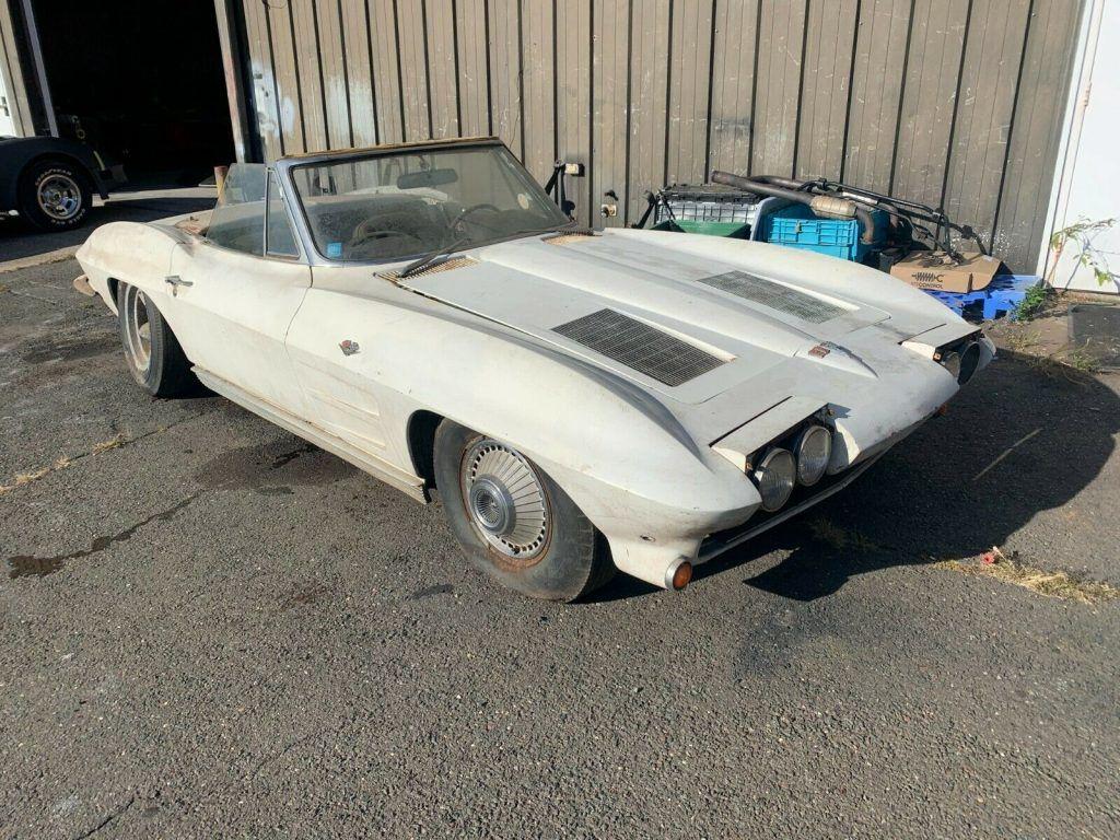 1963 Chevrolet Corvette Barn Find