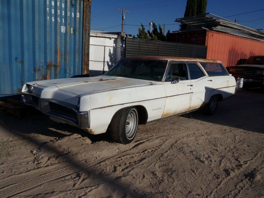 1967 Pontiac Catalina Station Wagon Barn Find