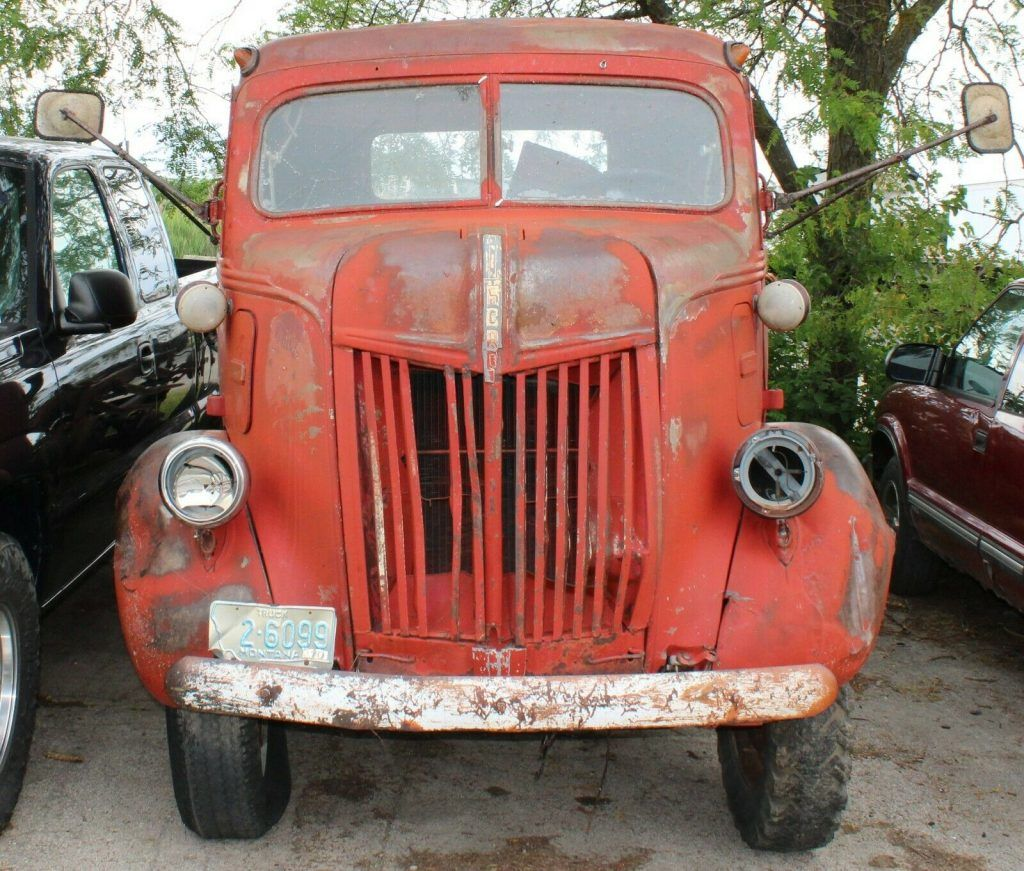 1947 Ford COE (Cab Over Engine)