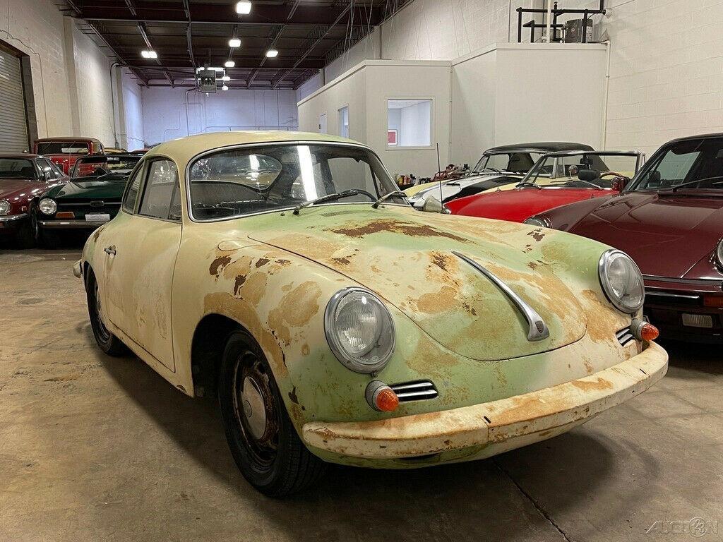 1964 Porsche 356 Barn Find C Coupe!