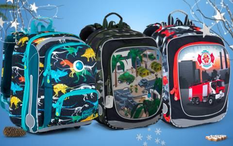 Školní aktovky a batohy pro kluky do 1. třídy