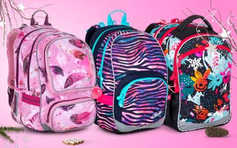 Školní batohy pro holky do 2. a 3. třídy