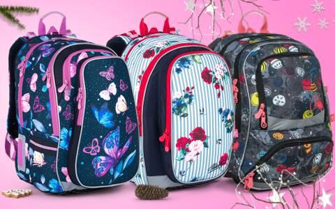 Školní batohy pro holky do 4. a 5. třídy