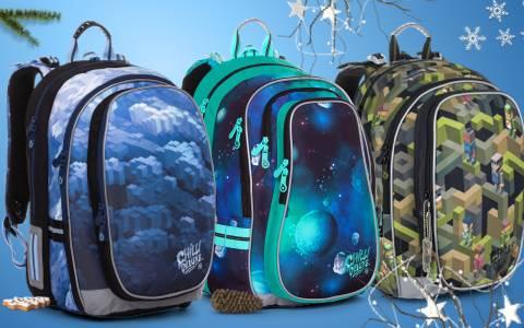 Školní batohy do 4. a 5. třídy - pro kluky