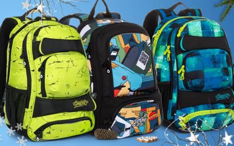 Školní a studentské batohy pro 2. stupeň ZŠ a na SŠ