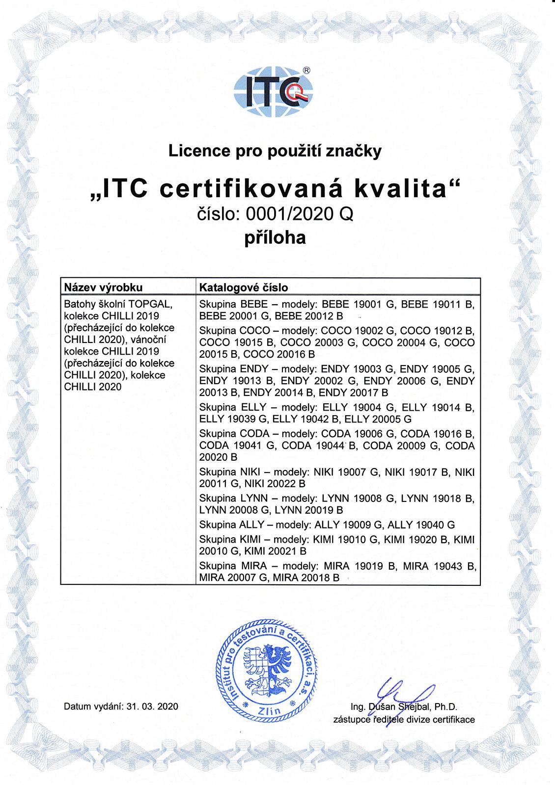 Certifikované školní batohy - strana 03